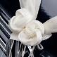 Hochzeitsdeko Girlanden mit Rosen Creme
