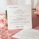 Karteneinleger Hochzeit 14,8 x 14,8 cm