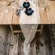 Tischdeko Hochzeit Tischband Spitze