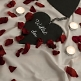 Rosenblätter rot deko