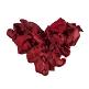 Rosenblätter rot herz
