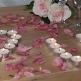 Rosenblätter rose deko