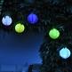 Deko Hochzeitslocation LED Lampions