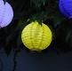 Hochzeitsdeko LED Lampion Gelb Klein