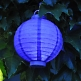 LED Lampion Lila