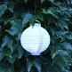 Hochzeitsdeko LED Lampion Weiss