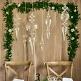 Ornamente aus Glas als Hängedeko