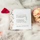 Save-the-Date- oder Dankeskarte Rosalie dekoriert