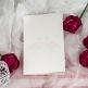 Menükarte oder Hochzeitskarte Tianna dekoriert