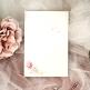 Menükarte oder Hochzeitskarte Alexandra dekoriert