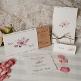 Kartenserie Nicole dekoriert
