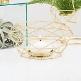 Kerzenhalter/Vase Geometric, gold