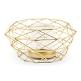 Kerzenhalter oder Vase in Gold