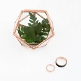 Mini-Terrarium aus Kupfer als Ringbox oder Dekobox
