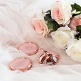 Taschenspiegel Braut, roségold