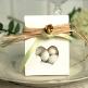 Hochzeitsmandeln Metallic, gold, 1kg Dekobeispiel
