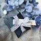 Kartonage Classic, dunkelblau, 6 x 6 x 2 cm