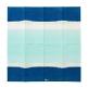 Serviette mit Muster in Blau, Streifen