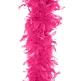 Federboa für Junggesellinnenabschied, pink