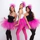 Haarreif Mädchen Tüll, pink, freigestellt