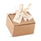 Gastgeschenk Kallisti, weiß, creme, Vintage, Hochzeit Taufe, Kommunion