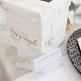 Kleine Glückwunsch Box Marmor