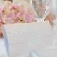Einladungskarte Hochzeit Lynn, rosé, Blätter Motiv in Metallic Gold / Roségold