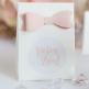 Gastgeschenk Olympia Design 1, weiß, rosa