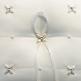 Ringkissen, Elegant, Perlen, weiß