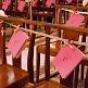 Deko-Klammern in Natur für Gastgeschenke zur Hochzeit - Dekobeispiel