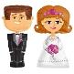 Airwalker Brautpaar