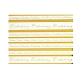 Kreativpapier Einladung transparent gold - kreative Hochzeit