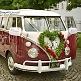 Autobikini Just Married Überzug für Autospiegel VW Bus