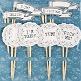 Cupcake Sticks Vintage als Hochzeitsdeko