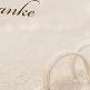 Dankeskarte Glenna für Ihre Hochzeit
