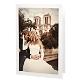 Dankeskarte White Calla für die Hochzeit