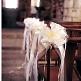 Dekoschleife-creme - für eine traumhafte Hochzeitsdekoration