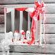 Dekoschleife-weiss - für eine elegante Hochzeitsdeko in Weiss