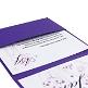 Einladungskarte zur Hochzeit in Lila - Innenkarten