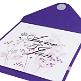 Einladungskarte Purple Passion - Innenkarte