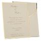 Einladungskarte Hochzeit Evita 1
