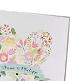 Einladungskarte Hochzeit mit Blütenherz