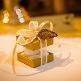 Faltschachtel pure in Gold, perfekt für Gastgeschenke zur Hochzeit