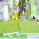 Gästebuch Hochzeit München - grünes Gästebuch