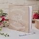 Gästebuch aus Holz