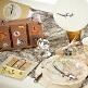 Geldgeschenk-Koffer Hochzeitsreise, Dekovariation
