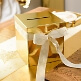 Geschenk-/Briefbox-gold-Detail