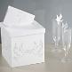 Elegante Geschenk oder Briefbox mit Taubenpaar-Aufdruck - Geschenk oder Briefbox mit Tauben-Aufdruck