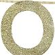 Dekogirlande in Gold für die Hochzeitslocation