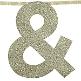 Girlande in Gold für die Hochzeitslocation